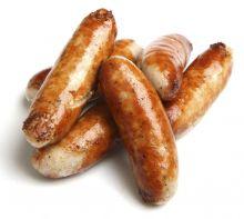 2 Packs of Frozen Pork & Leek Sausages